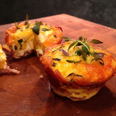 Egg-and-Bacon-Cupcakes